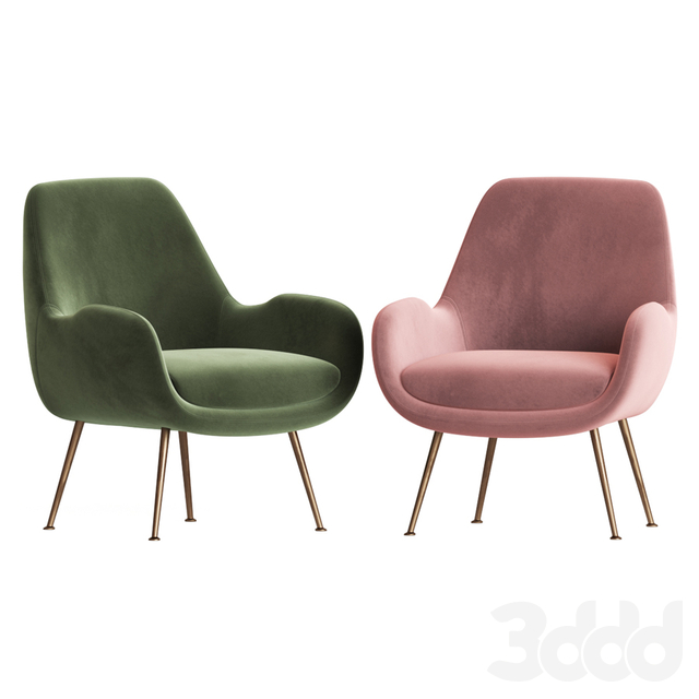 Moby Accent Chair Made