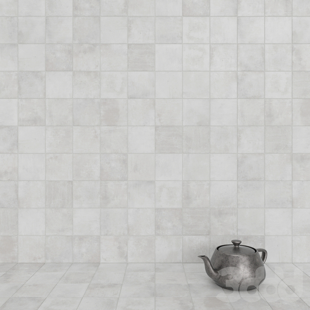 ZYX by Colorker AMAZONIA OFF WHITE tile set