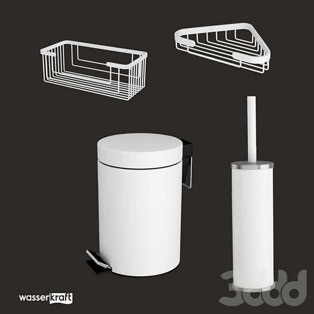 Аксессуары для ванной комнаты  Kammel K-8300WHITE_ОМ