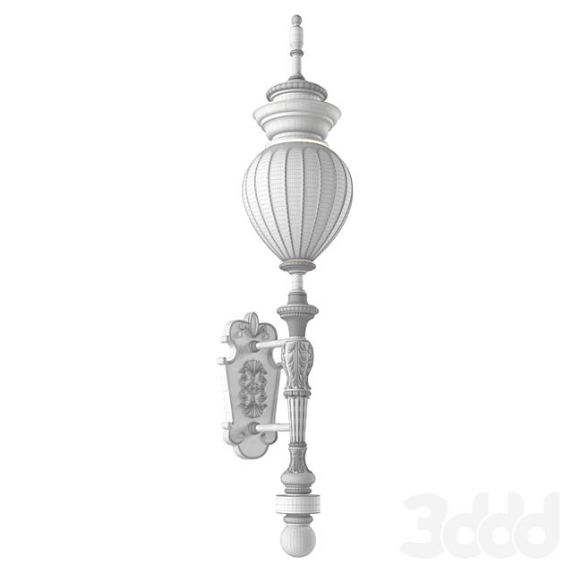 Классический настенный уличный фонарь.Street Light