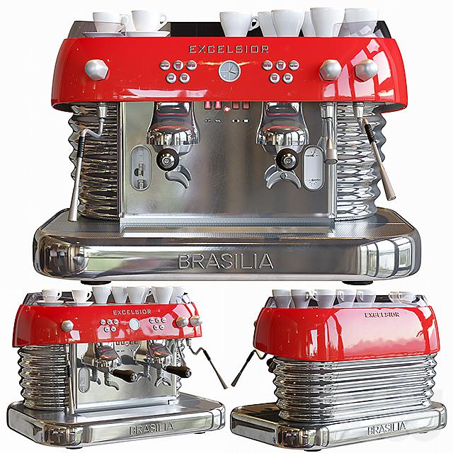 Кофе-машина excelsior brasilia.