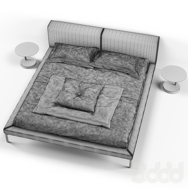 CANELLI bed by ZEGEN