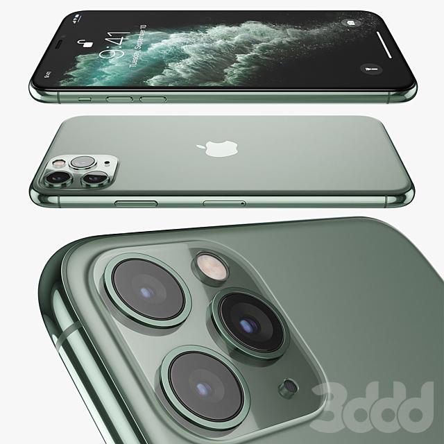 Apple iPhone 11 pro MAX Midnight Green