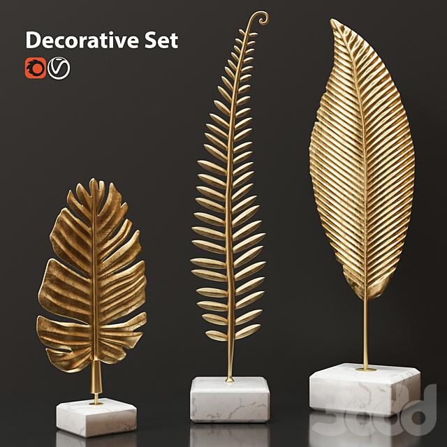 Декоративный набор Золотые листья