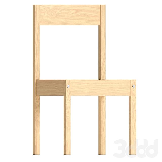Столик детский и 2 стула IKEA LÄTT