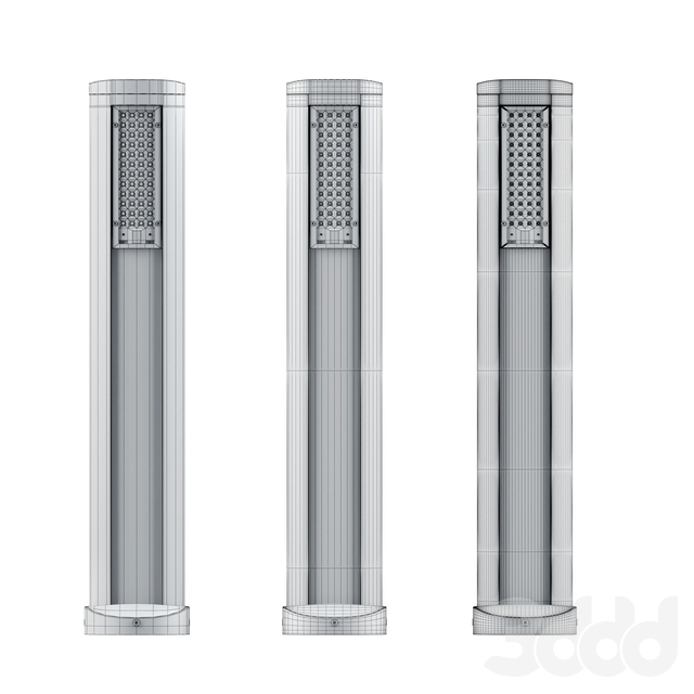 SoleCity Column and Bollard (Set 3)