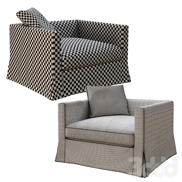 B&B Italia Maxalto Simpliciter armchair