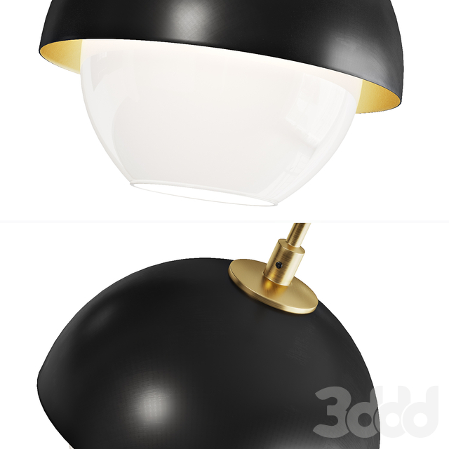 Scandinavian style pendant lamp  OLVE