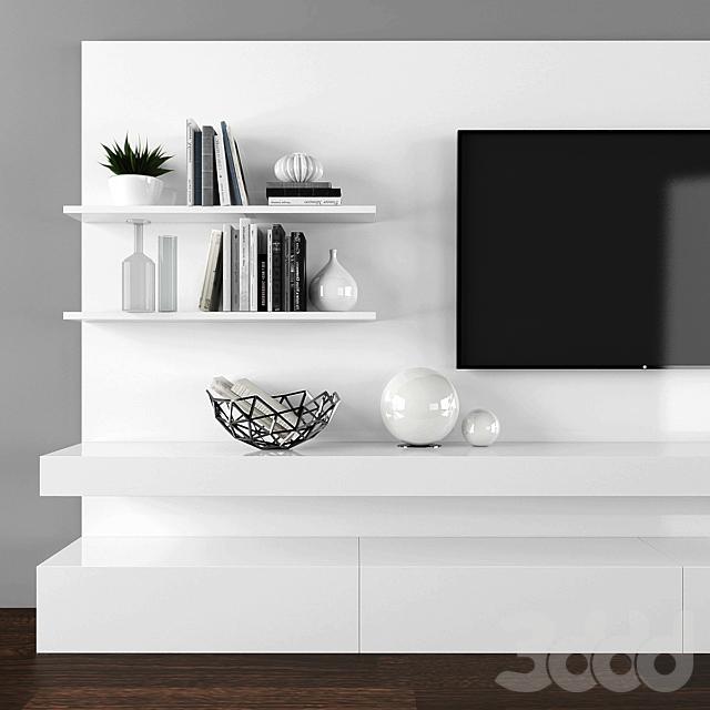 Tv stand set 079