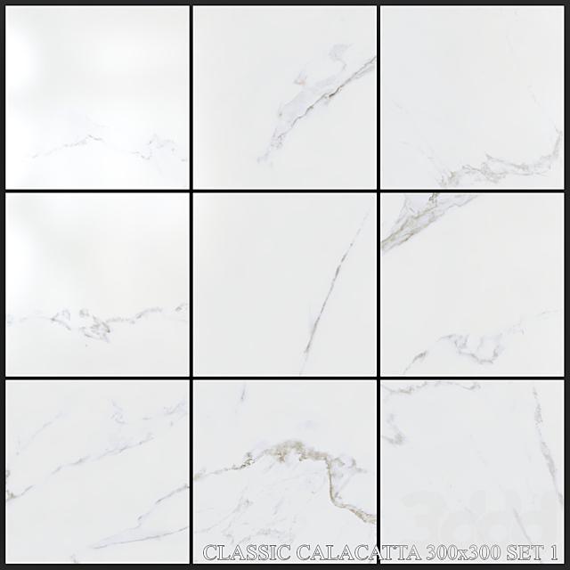 Yurtbay Seramik Classic Calacatta 300x300 Set 1