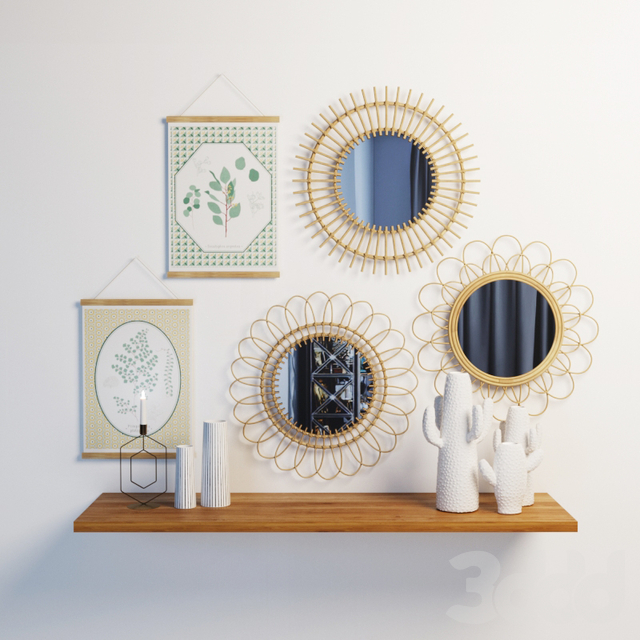 La Redoute decor set