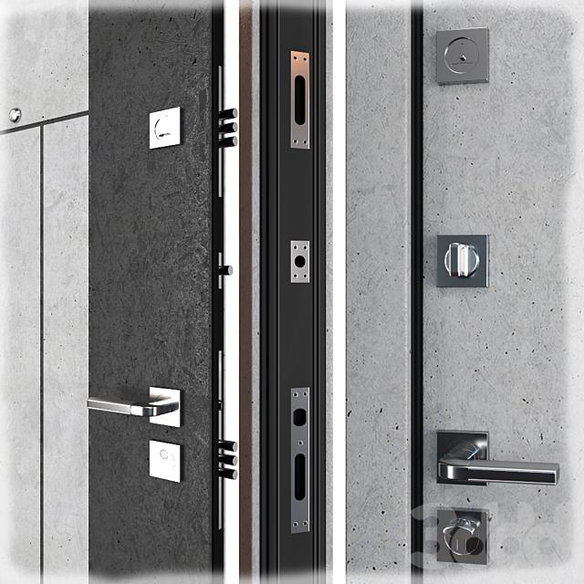 Входная металлическая дверь Arcadia (Zimen)