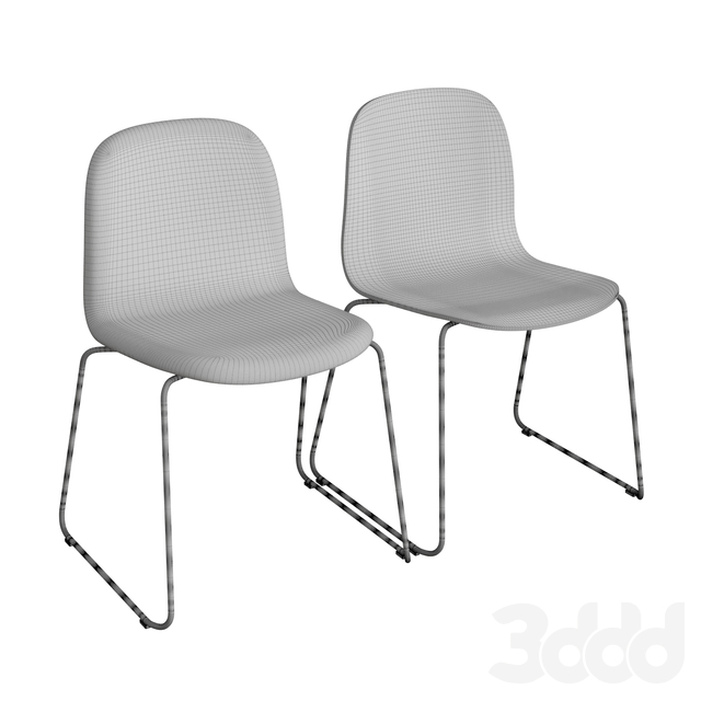 Visu Sled Base Chair