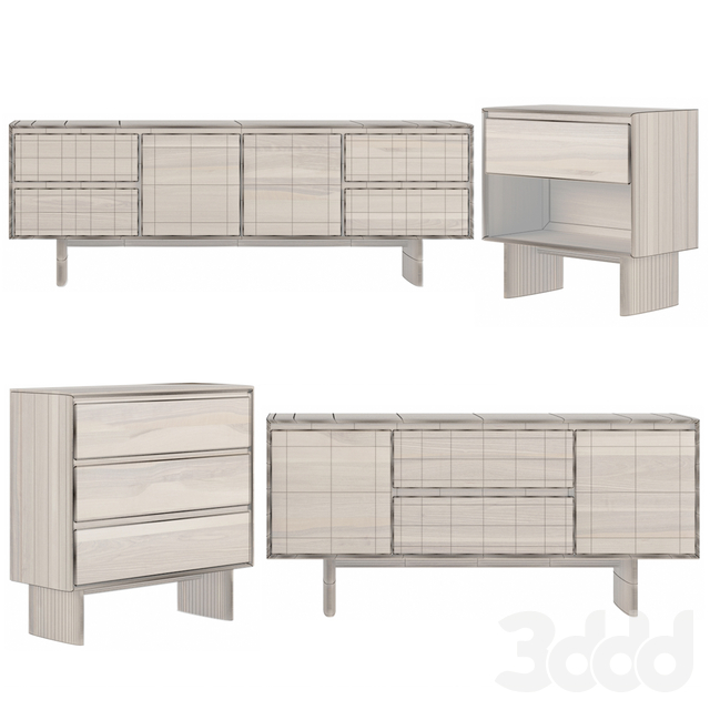 Anton Solid wood console collections