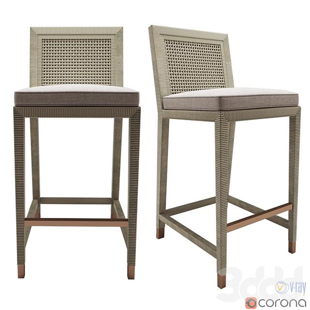 Serena and Lily Balboa counter stool