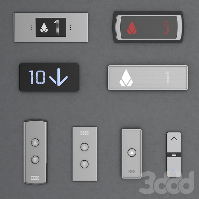 Набор дверей для лифтов Kone