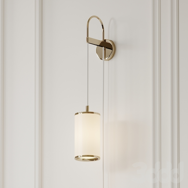 Lily Gold Wall Sconce by Italamp
