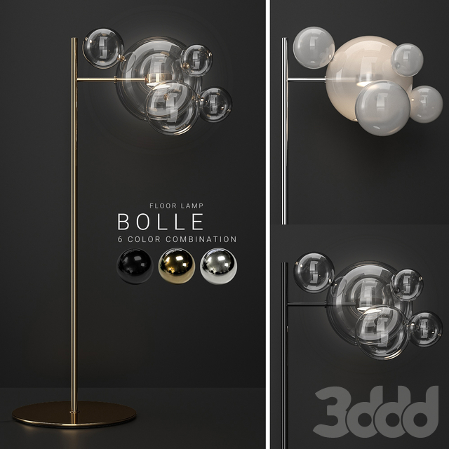 Floor lamp Giopato & Coombes Bolle  6 bubbles