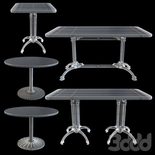 Cast Iron Underframe table