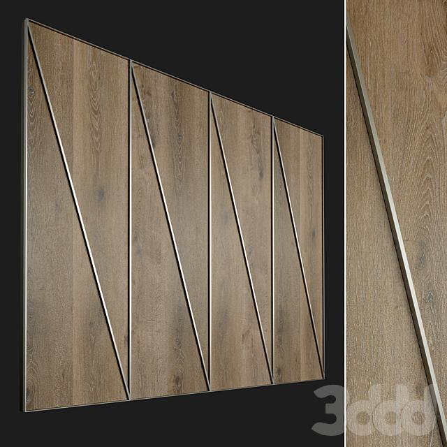 Стеновая панель из дерева. Декоративная стена. 70