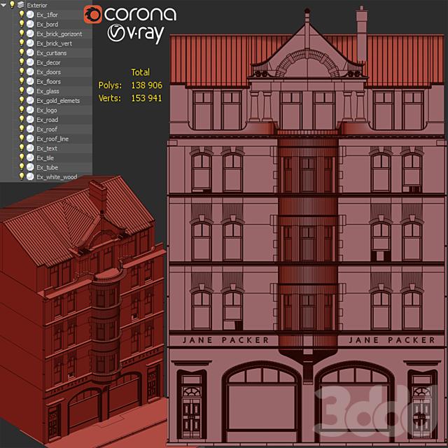 London building facade