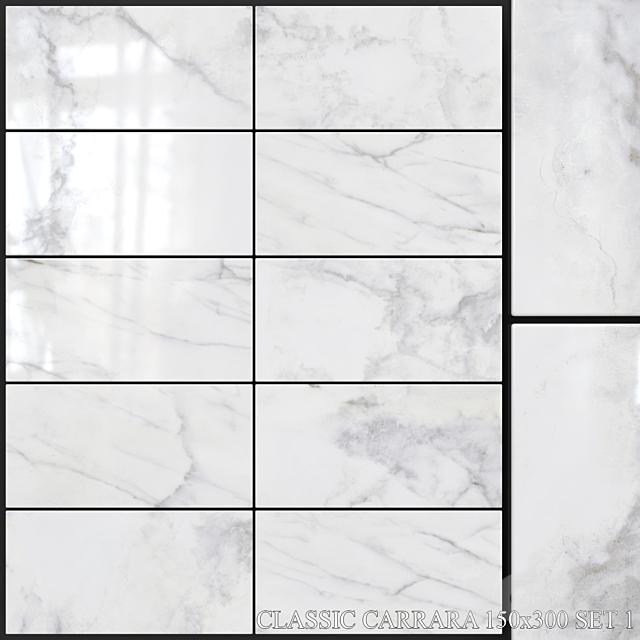 Yurtbay Seramik Classic Carrara 150x300 Set 1