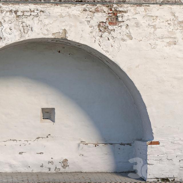 Стена с аркой