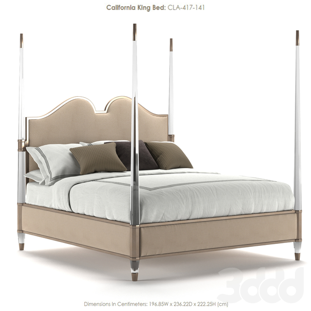 Caracole King Bed