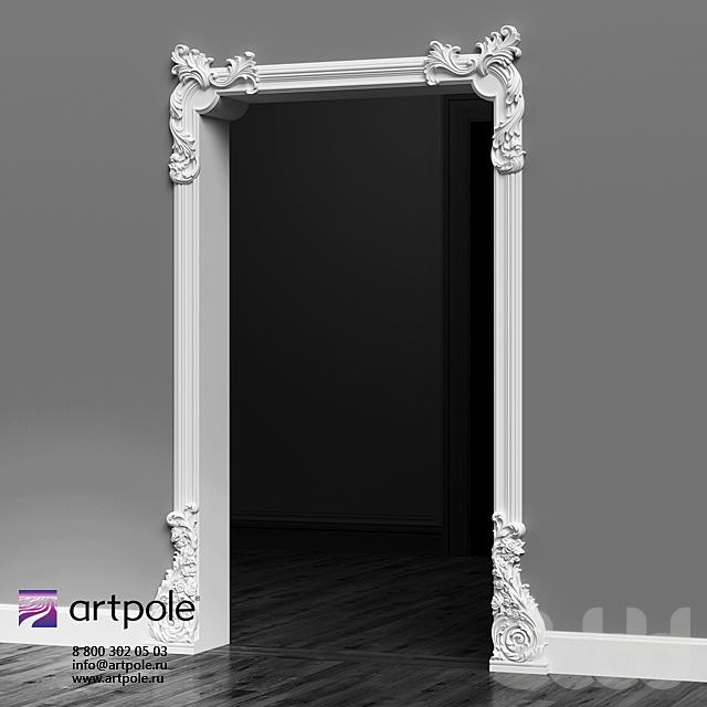 Гипсовый декоративный портал от Artpole
