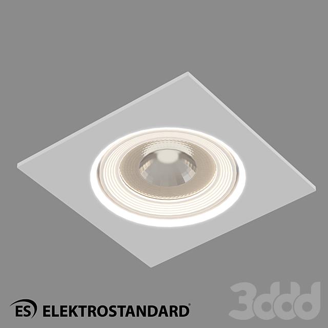 ОМ Встраиваемый потолочный светильник Elektrostandard 9915 LED 6W WH