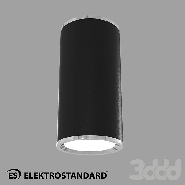 ОМ Потолочный светильник Elektrostandard DLN101 GU10 BK