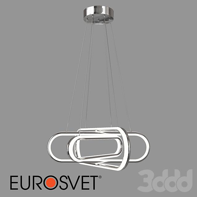 ОМ Подвесной светодиодный светильник Eurosvet 90172/6 хром Sorge