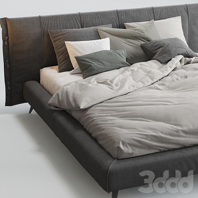 Cuff Bed Bonaldo
