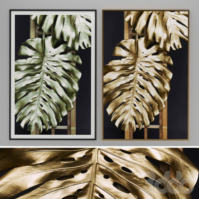 leaves Pictures Frame