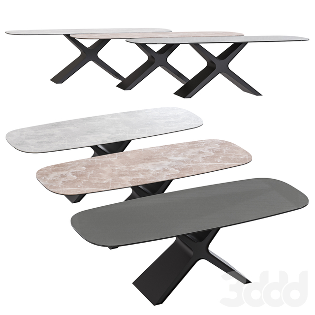 Calliope XXL Table from Tonin Casa