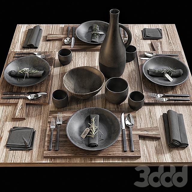 Сервировка стола / Table setting 15