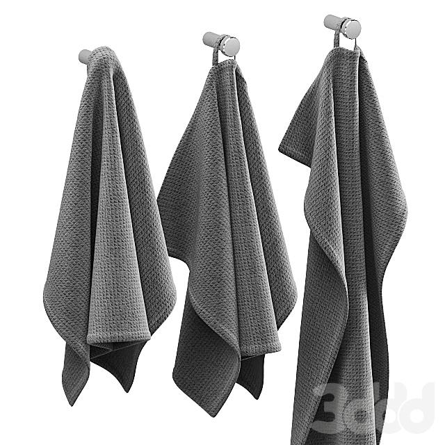 KITCHEN TOWELS GREY