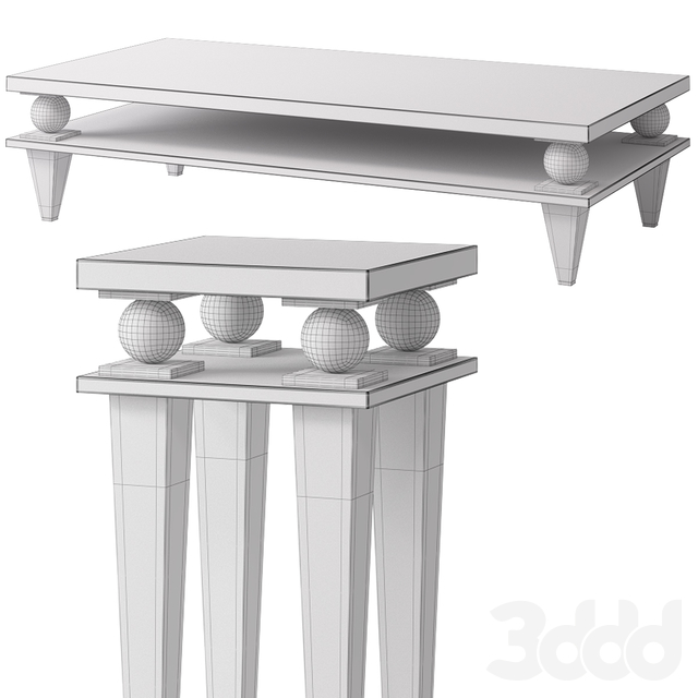 Table set KORP by Capital Collections