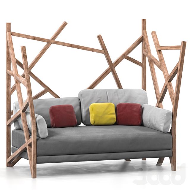 Roche Bobois Saga cocoon sofa