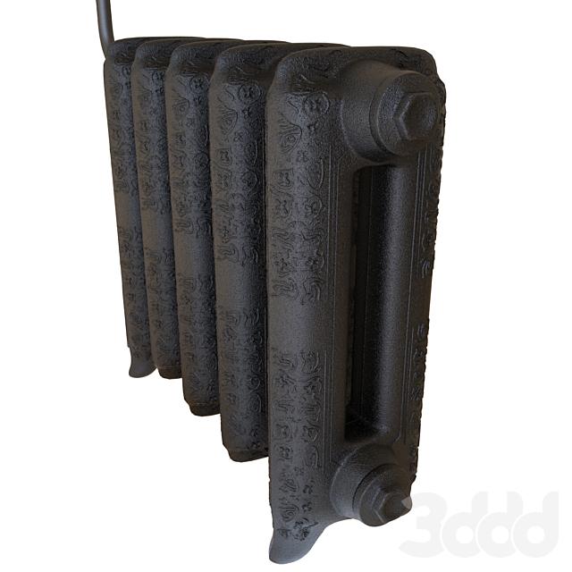 Чугунная батарея | Iron radiator