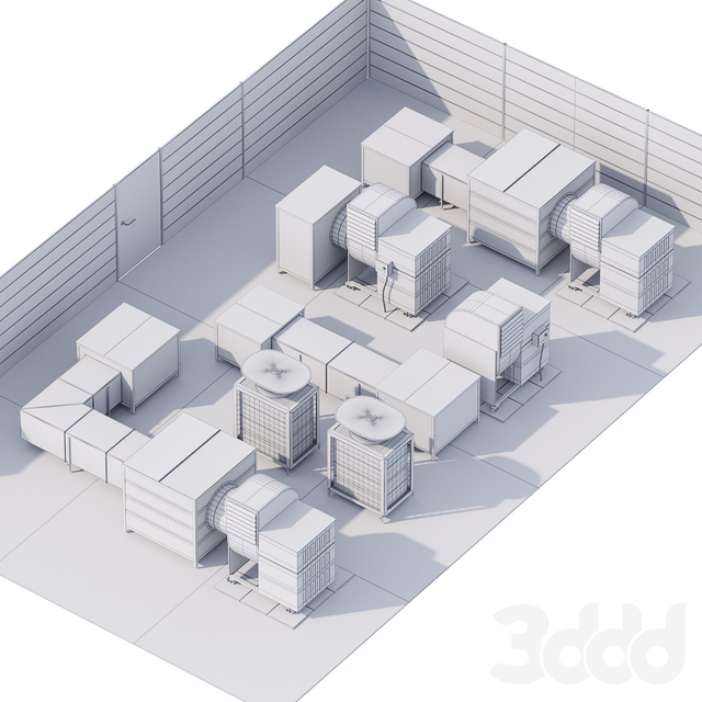 HVAC Roof Techologies / Технологии на крыше