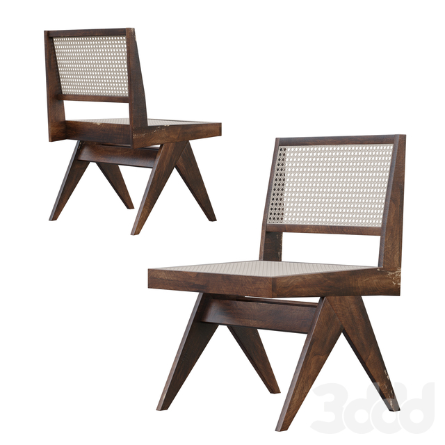 Pierre Jeanneret  V Type Chair