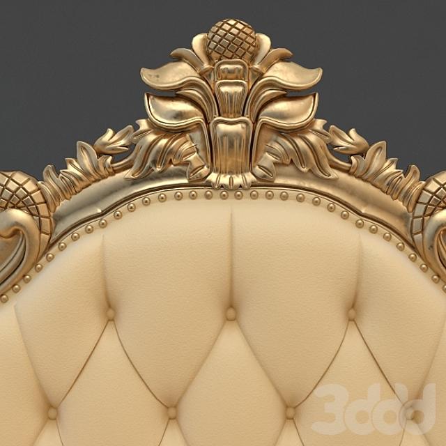 Gold Leaf Wedding Sofa Indonesia
