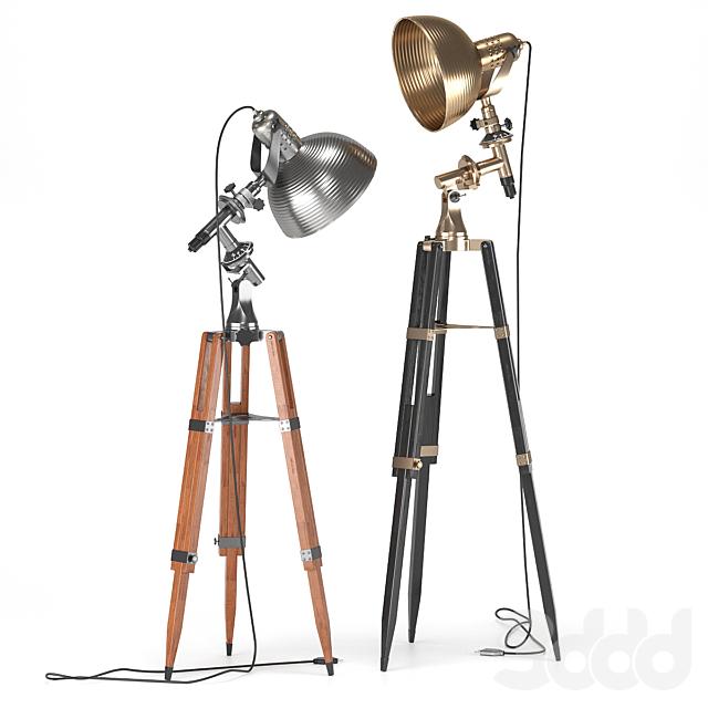 студийный напольный светильник