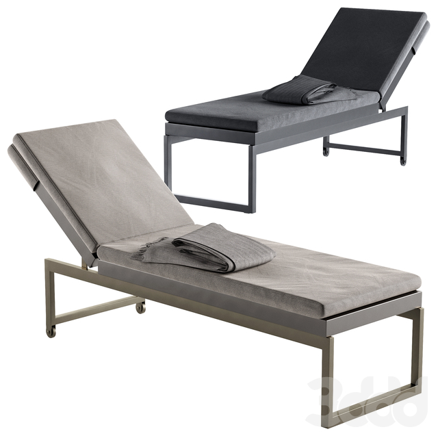 Dune Taupe Chaise Lounge Crate and Barrel