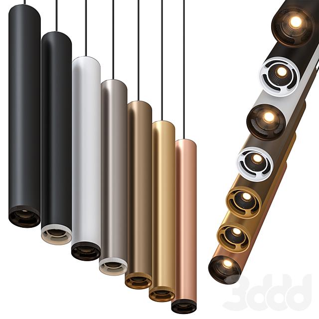 Olev Beam Stick 80 Pendant Lamp by Marc Sadler Pack 1