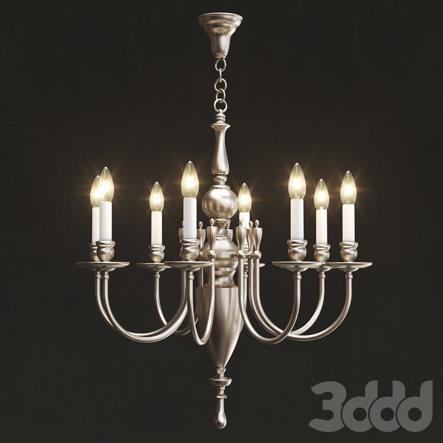 Remains - Astrid 8 arm chandelier