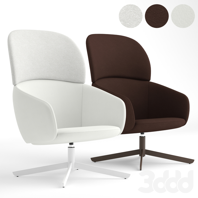 True Design Not High Back lounge chair