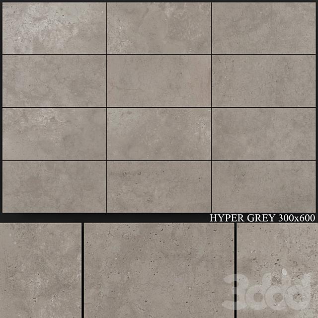 Flaviker Hyper Grey 300x600