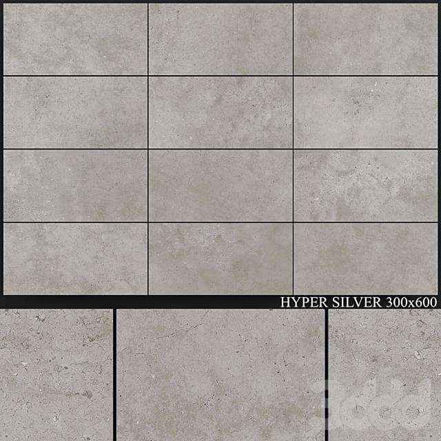 Flaviker Hyper Silver 300x600